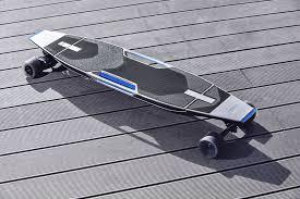 bmw longboard this audi has a beautiful electric longboard in its bumper