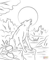 coloring pages halloween coloring pages werewolf goosebumps