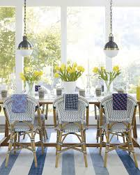 Yellow Dining Room Table by Riviera Side Chair Teak Table Black Hicks Pendants Yellow