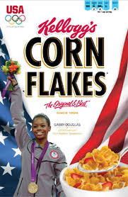 Frosted Flakes Meme - gabby douglas the new cover girl for corn flakes cbs news