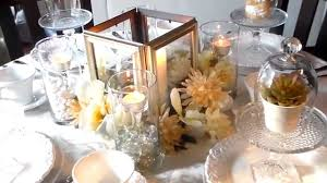 Picture Frame Centerpieces by Simply Lavish At Home Dollar Tree Chic Diy Lantern Youtube