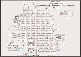 Fashion Show Floor Plan by Mide 2015 Malaysia Asia