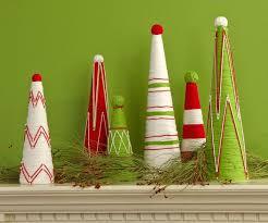 diy fake christmas trees on budget