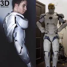 3d printable mark xlii armor model mk 42 suit from iron man 3