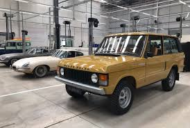 old range rover jaguar land rover classic works inside the u0027dream factory