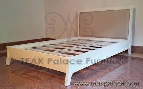 Dipan Kayu Kalimantan tempat tidur anak minimalis putih kayu mahoni murah