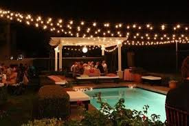 String Lighting For Patio Simple Patio String Lights For Home Interior Design Remodel Patio