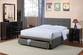 poundex associates item f9330f full size platform bed frame