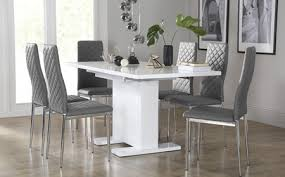 Grey Dining Table Chairs Dining Chairs And Tables Ebizby Design