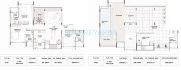 Sorrento Floor Plan Marvel Sorrento In Baner Pune Project Overview Unit Plans