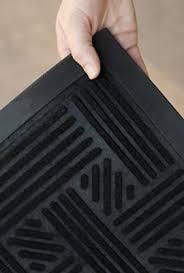 Low Profile Rug Alpine Neighbor Doormat Low Profile Outdoor Black Door Mat