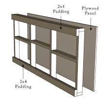 home design painted cinder block shelves home media design