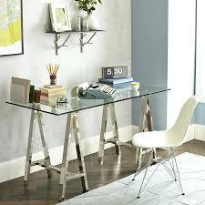 Computer Glass Desks For Home Fine Modern Glass Desk For House Design Desks Home Office Sale