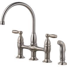 Moen Waterhill Kitchen Faucet Bridge Kitchen Faucets Home Design Styles