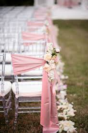 diy chair sashes 20 creative diy wedding chair ideas with satin sash