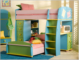 Bunk Bed With Study Table Photos Of Furniture Decorating Colorful Bunk Bed With Study