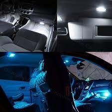 wljh 7x blue white 2835 smd car led interior light bulb