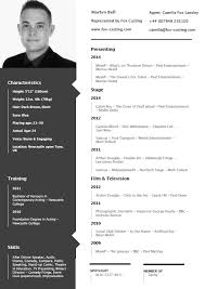 Tv Host Resume Good Resume Layout Good Resume Examples Gallery Image Tienda
