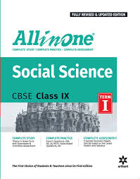 all in one social science cbse class 9th term i old edition