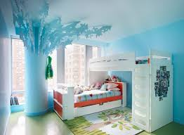 Girls Bed With Desk by Bunk Bed With Desk Underneath In Kids Eclectic With Kids Room With