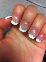 purple french tip nail designs photo gallery of the glamorous