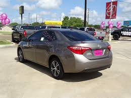 used lexus victoria tx pre owned 2017 toyota corolla le 4dr car in victoria d663531t