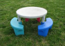 best fisher price adjustable round picnic table for sale in