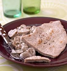 cuisiner escalope de veau escalopes de veau à la crème et aux chignons les meilleures