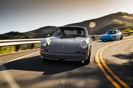 porsche nardo grey an afternoon with two vintage porsche 911s re imagined by la u0027s