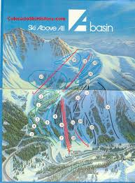 Colorado Ski Areas Map by History Of The Arapahoe Basin Ski Area
