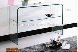 Clear Console Table Sofa Console Tables With Shelves Glass Console Table With Shelf