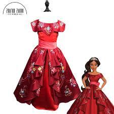 Shop Elena Avalor Princess Elena Cosplay Costume Red