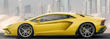 yellow lamborghini aventador aventador s is a super sleek 740 hp monster