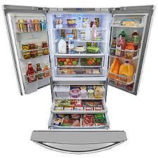 Stainless Steel Refrigerator French Door Bottom Freezer - kenmore elite 73153 28 7 cu ft french door bottom freezer