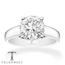 kay jewelers outlet kayoutlet tolkowsky solitaire ring 2 carat diamond 14k white gold