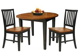 dining room pieces 3 piece dining set with two drop leaves by intercon wolf and