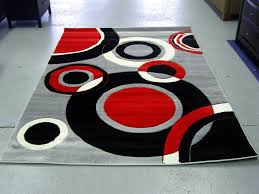 Black White Area Rug Fetching Rug Design With Pleasing Black White Color Design