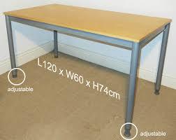 effektiv ikea good condition ikea effektiv desk 120cm wide adjustable feet