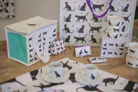 black u0026 white cat and dog design giftware collection bone china