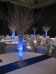 Waterproof Vase Lights Winter Centerpieces Use Our Blue Submersible Tea Lights Http