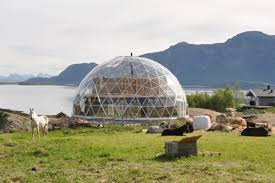 geodesic dome house this cob house weathers the cold beneath a geodesic dome curbed