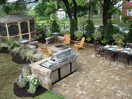 Outside Kitchen Ideas Cheap Outdoor Kitchen Ideas Rafael Home Biz With Regard To