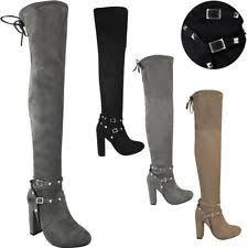 s grey boots uk s size uk 6 grey boots ebay