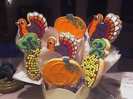 cookie creations thanksgiving cookie bouquet