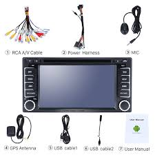 android 7 1 dvd player 2008 2013 subaru forester xv radio upgrade