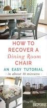 Recovering Dining Chairs How To Recover Dining Room Chairs Unique Reupholster Parsons