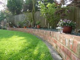 brick patio wall designs landscape design 3d walkthrough front