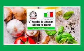 cuisine italienne semaine de la cuisine italienne en tunisie à tunis et sousse
