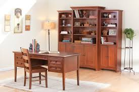 Cherry Wood Bookcase With Doors Hoot Judkins Furniture San Francisco San Jose Bay Area Whittier