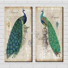 peacocks home decor peacock wall art for splendid home decor furnitureanddecors com